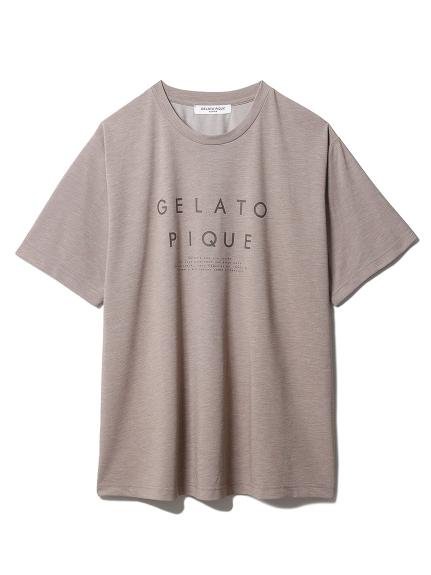 【GELATO PIQUE HOMME】 冷感ロゴTシャツ