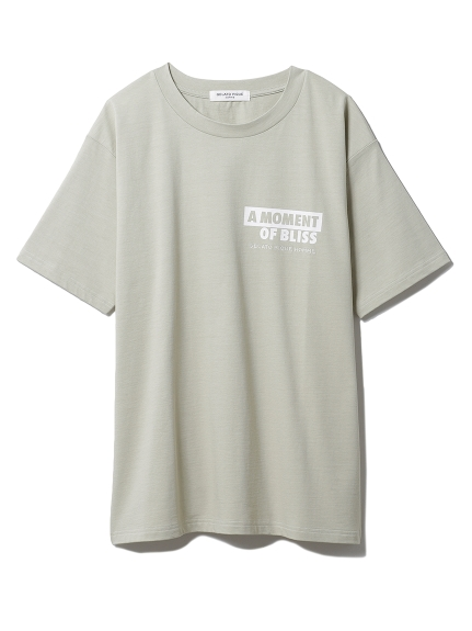 【GELATO PIQUE HOMME】 カポックプレーティングTシャツ(GRN-M)