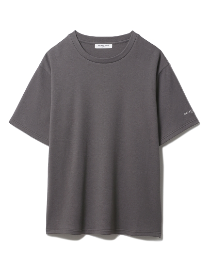 【GELATO PIQUE HOMME】 エイトロックTシャツ(CGRY-M)