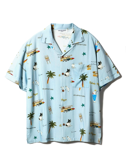 【GELATOPIQUEHOMME】アロハシャツ