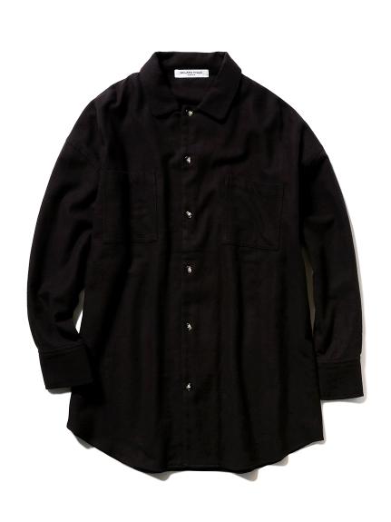 【GELATO PIQUE HOMME】ネルシャツ(NVY-M)