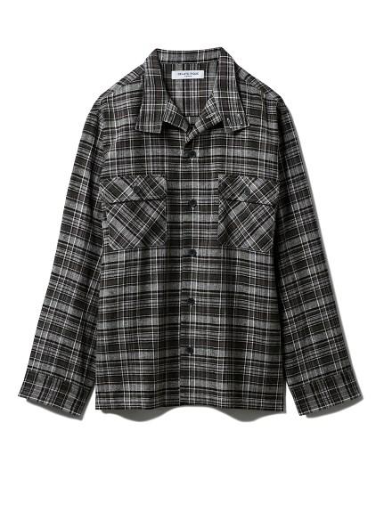 【GELATO PIQUE HOMME】チェックシャツ(GRN-M)