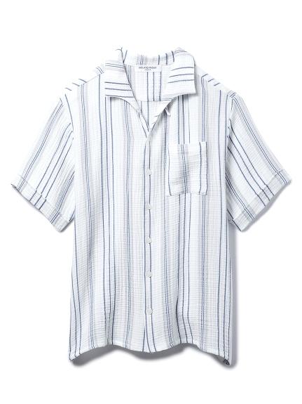 【GELATO PIQUE HOMME】コットンシャツ(OWHT-M)