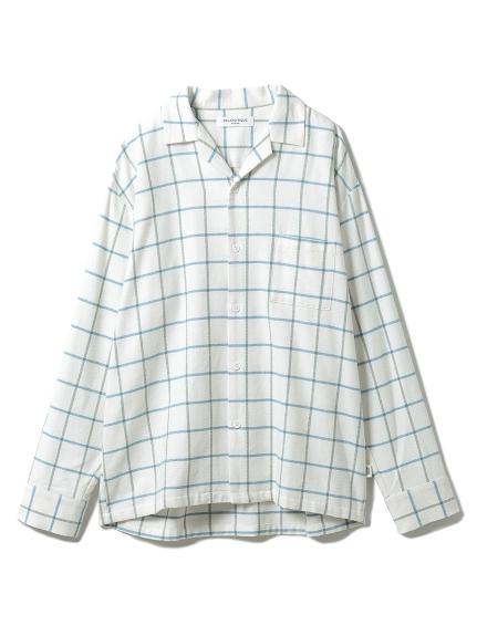 【GELATO PIQUE HOMME】 コットンチェックシャツ(OWHT-M)