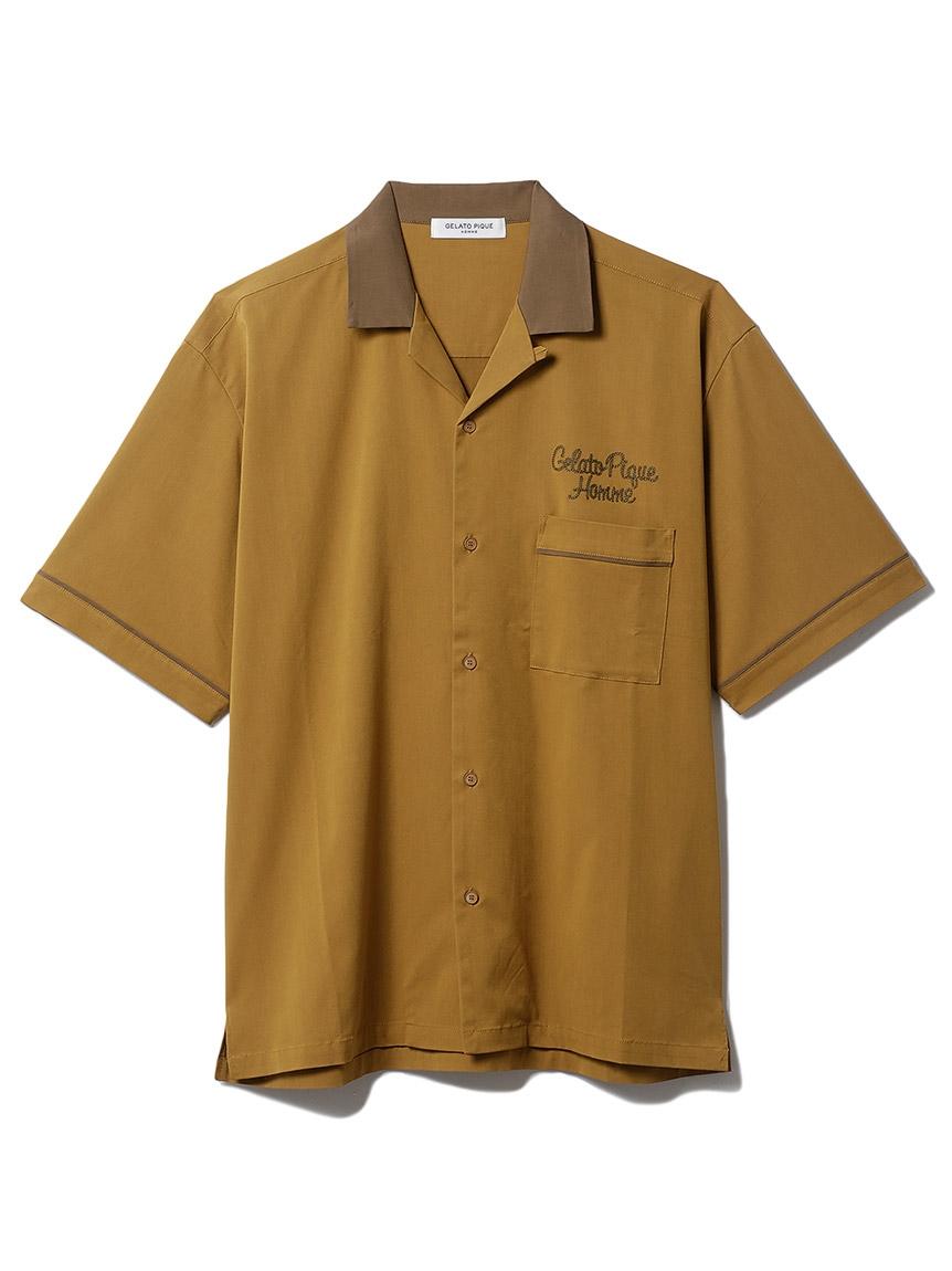 【GELATO PIQUE HOMME】 ボーリングシャツ(BRW-M)