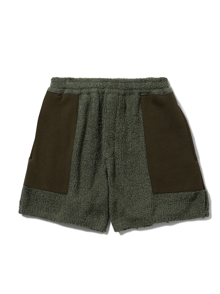 【MISTERGENTLEMAN×HOMME】BAMBOO PATCHED SHORT(OLV-M)