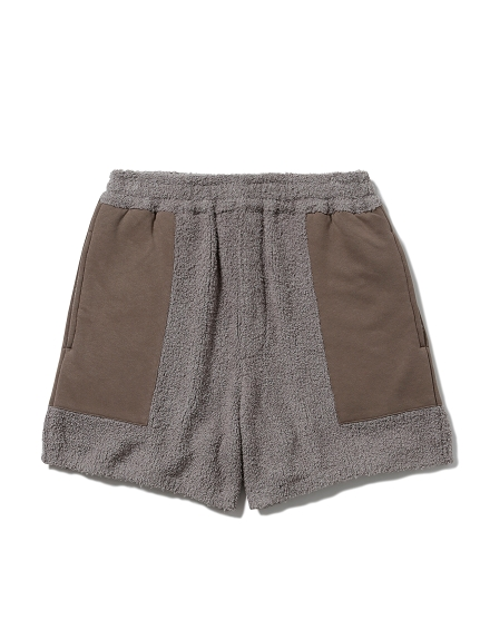 【MISTERGENTLEMAN×HOMME】BAMBOO PATCHED SHORT(BEG-M)