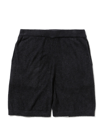 【MISTERGENTLEMAN×HOMME】SMOOTHIE LETTERED SHORT(BLK-M)