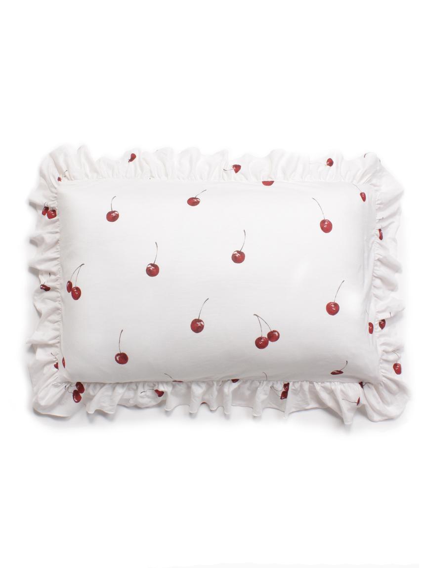 【Sleep】チェリーモチーフ枕カバー