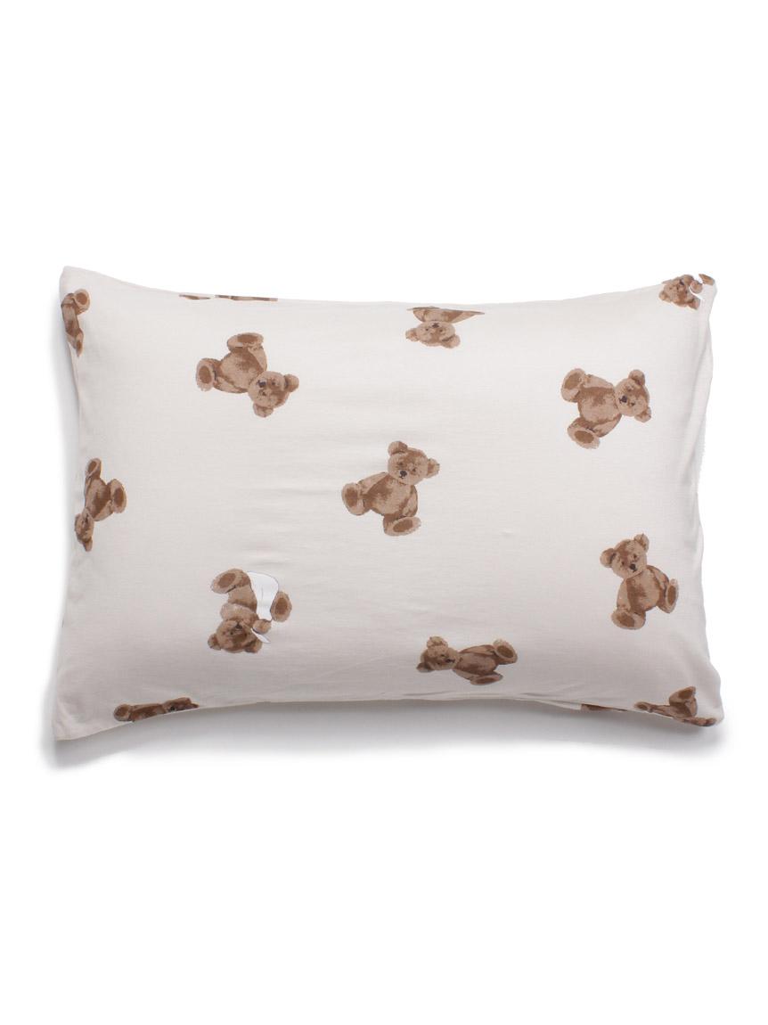 【Sleep】ベアモチーフ枕カバー