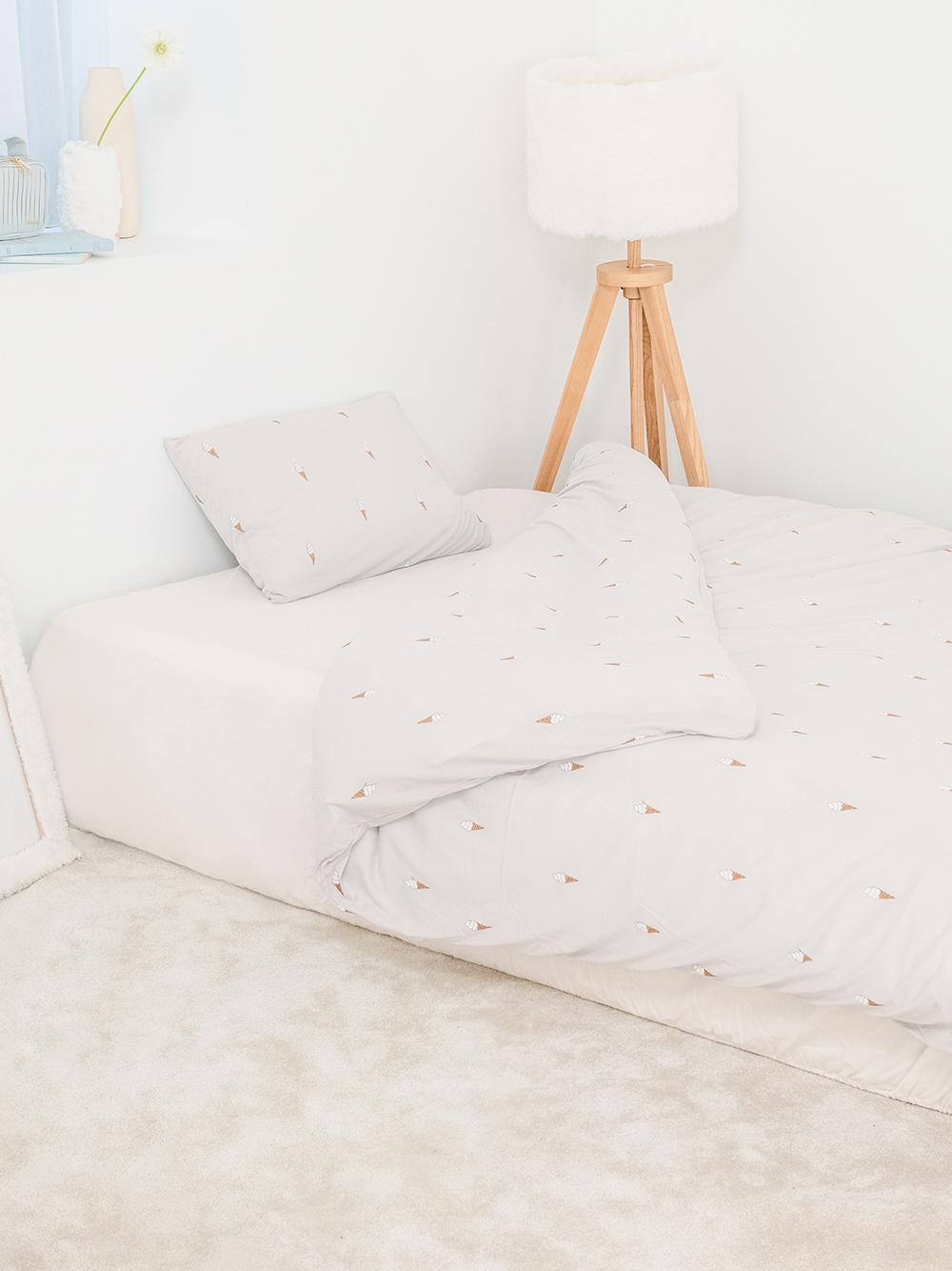 【Sleep】(セミダブル)アイスモチーフ2点SET(BLU-SD)