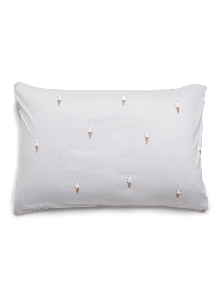 【Sleep】アイスモチーフ枕カバー(BLU-F)