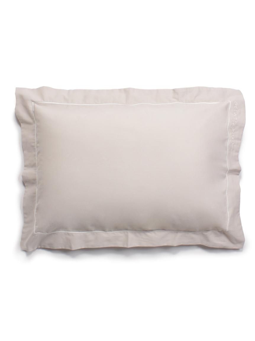 【Sleep】トリムライン枕カバー(BEG-F)