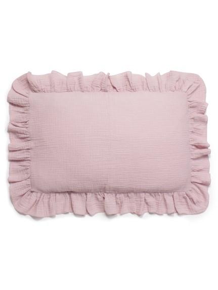 【Sleep】ガーゼフリル枕カバー(PNK-F)