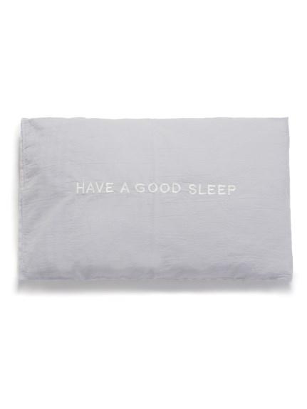 【Sleep】ギンガムチェック枕カバー(BLU-F)