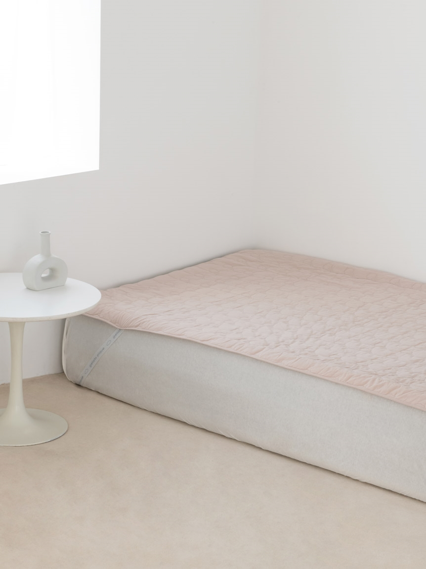 【Sleep】(シングル)アイス柄COOLベッドパッド