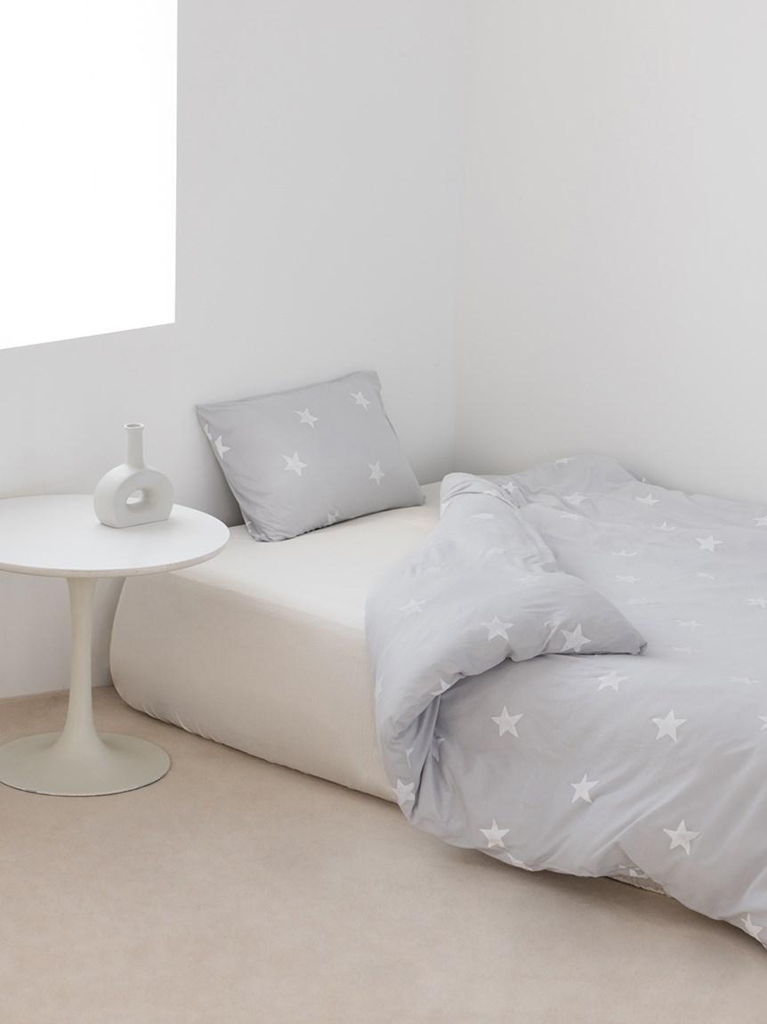 【Sleep】【ONLINE限定】 スター柄2点SET セミダブル(BLU-SD)