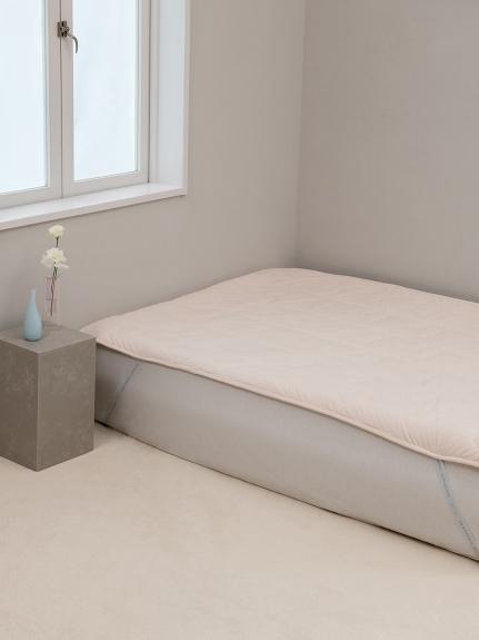 【Sleep】(セミダブル)暖か雲敷パッド(OWHT-SD)
