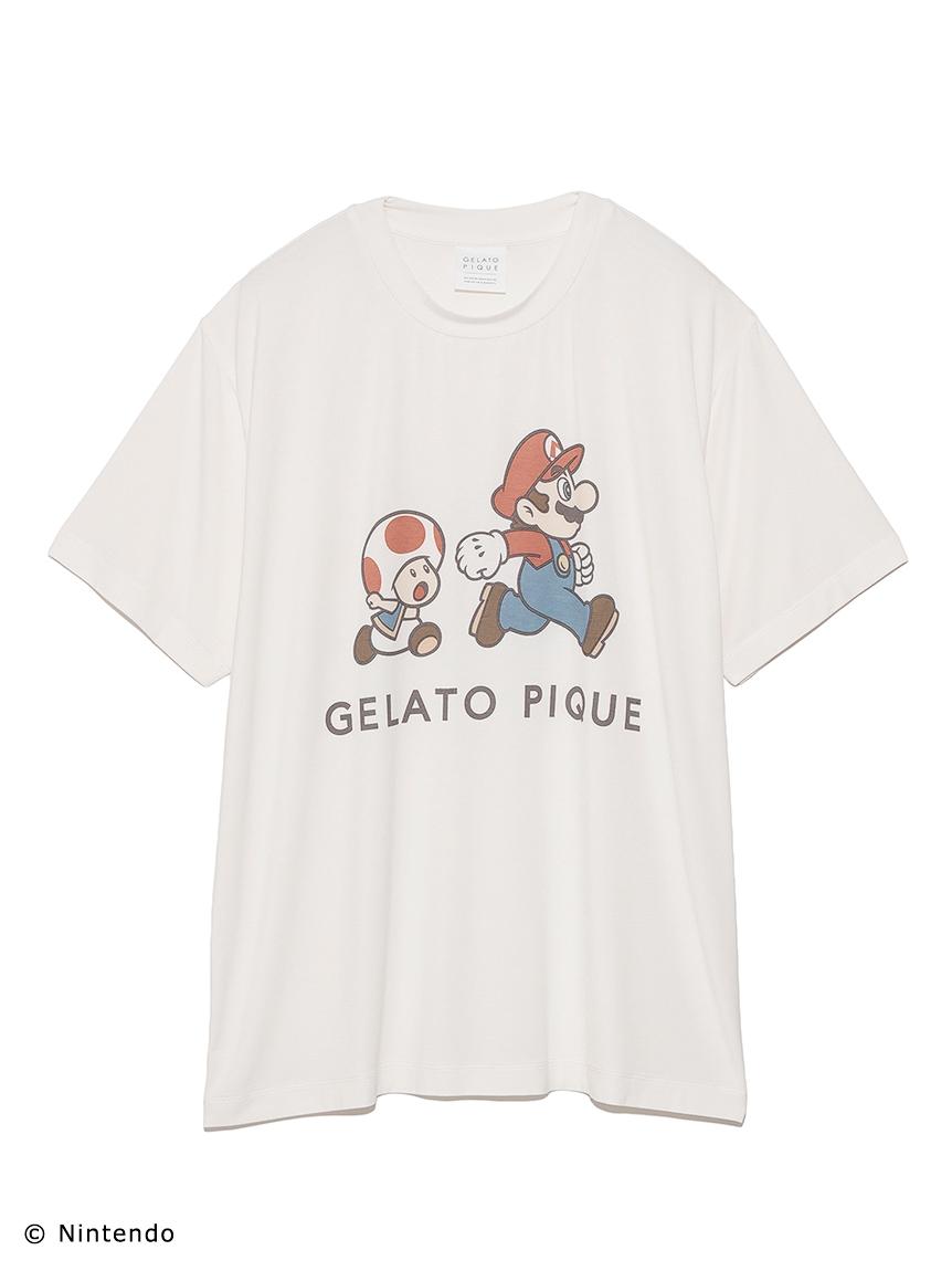 【スーパーマリオ 限定商品】【UNISEX】キャラクターTシャツ(RED-F)