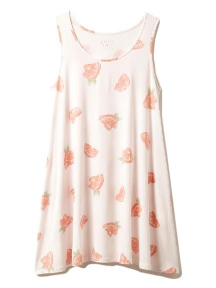 フルーツモチーフドレス(PNK-F)