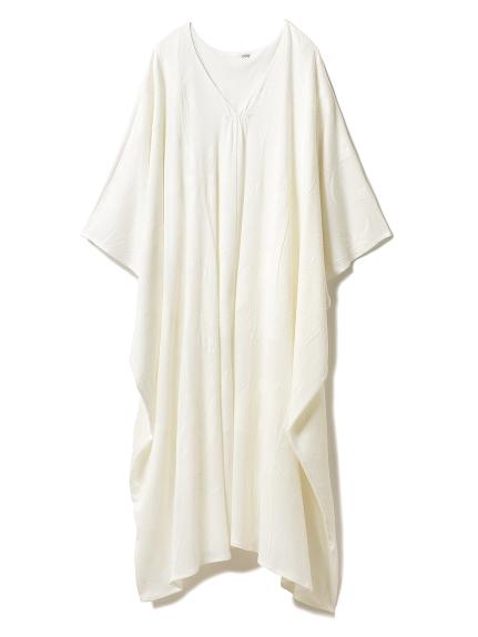 パイルジャガードロングドレス(OWHT-F)
