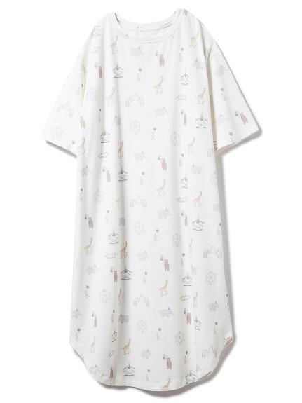 ピケランドドレス
