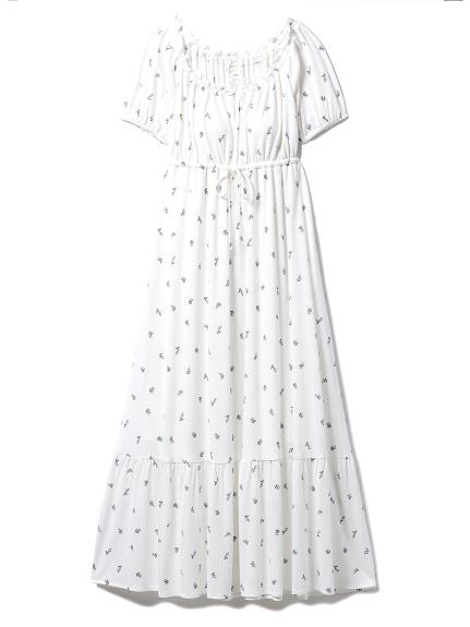 リトルローズロングドレス(BLU-F)