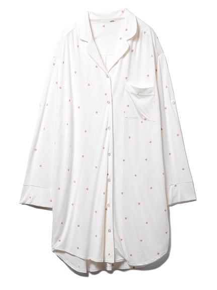 ハートシャツドレス