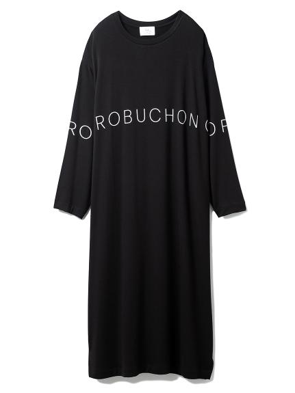 【Joel Robuchon & gelato pique】抗ウィルスドレス(BLK-F)
