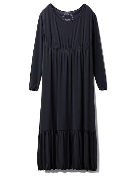 レーヨンロゴロングドレス