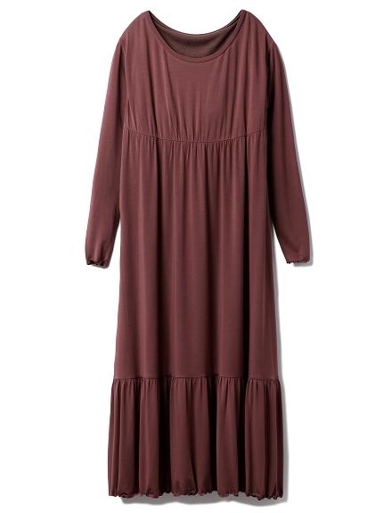 レーヨンロゴロングドレス(BUR-F)