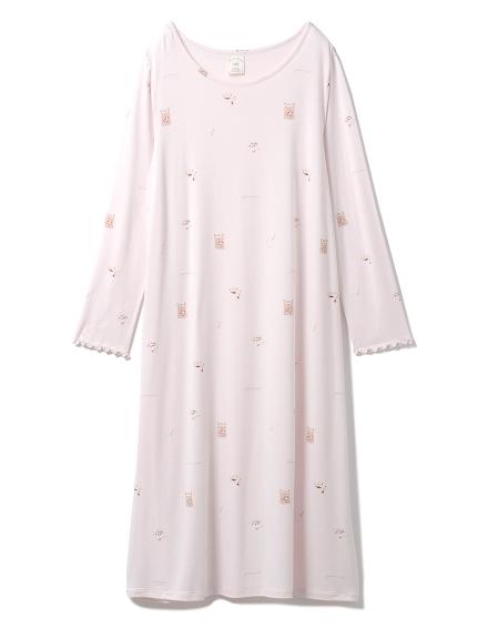 3柄モチーフドレス(PNK-F)