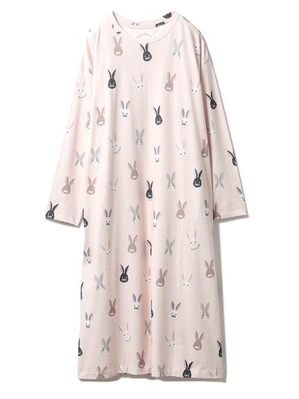 ウサギモチーフドレス(PNK-F)