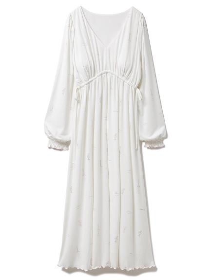 フレグランスモチーフドレス