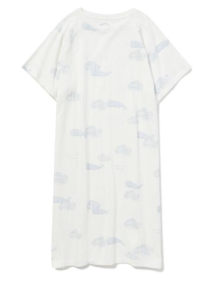 クジラモチーフドレス