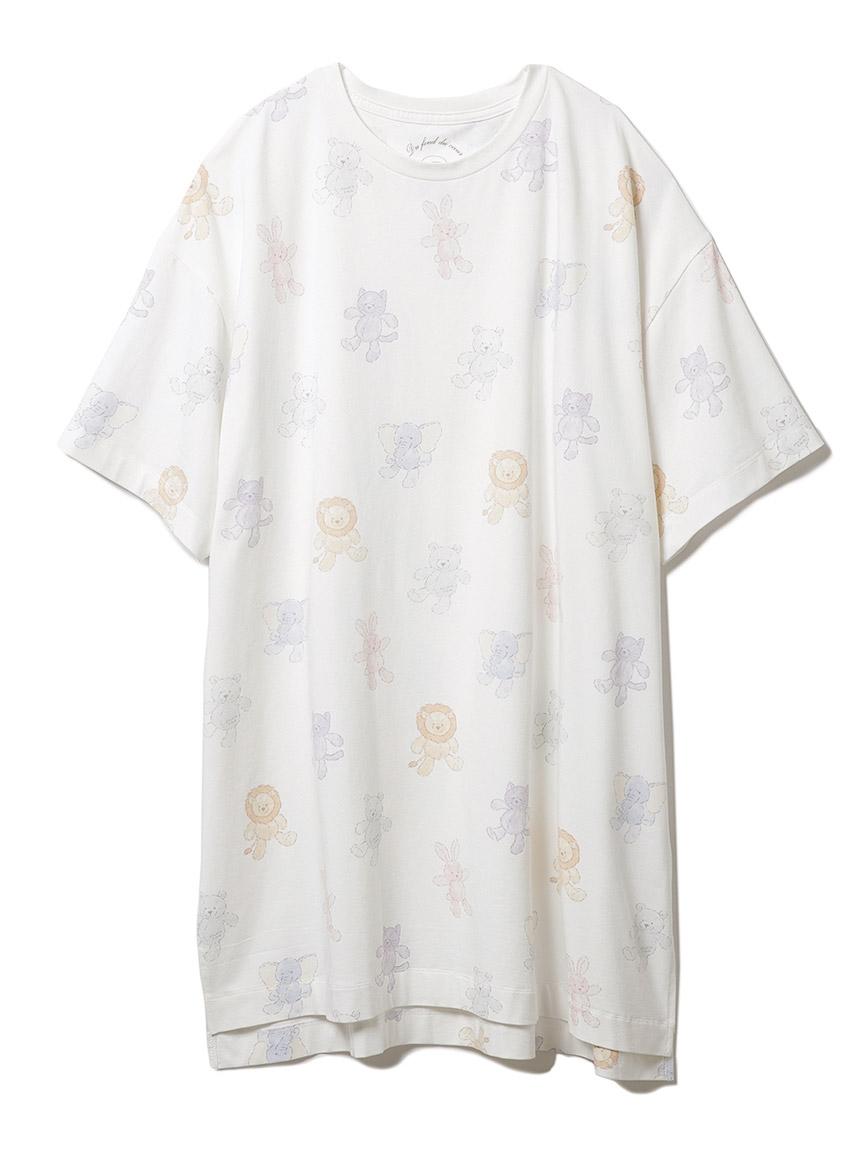 ぬいぐるみモチーフドレス