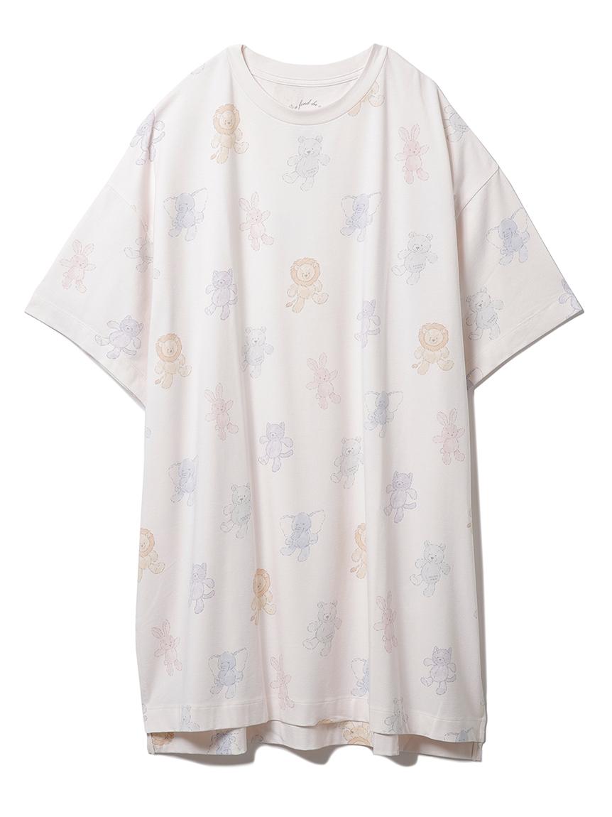 ぬいぐるみモチーフドレス(PNK-F)