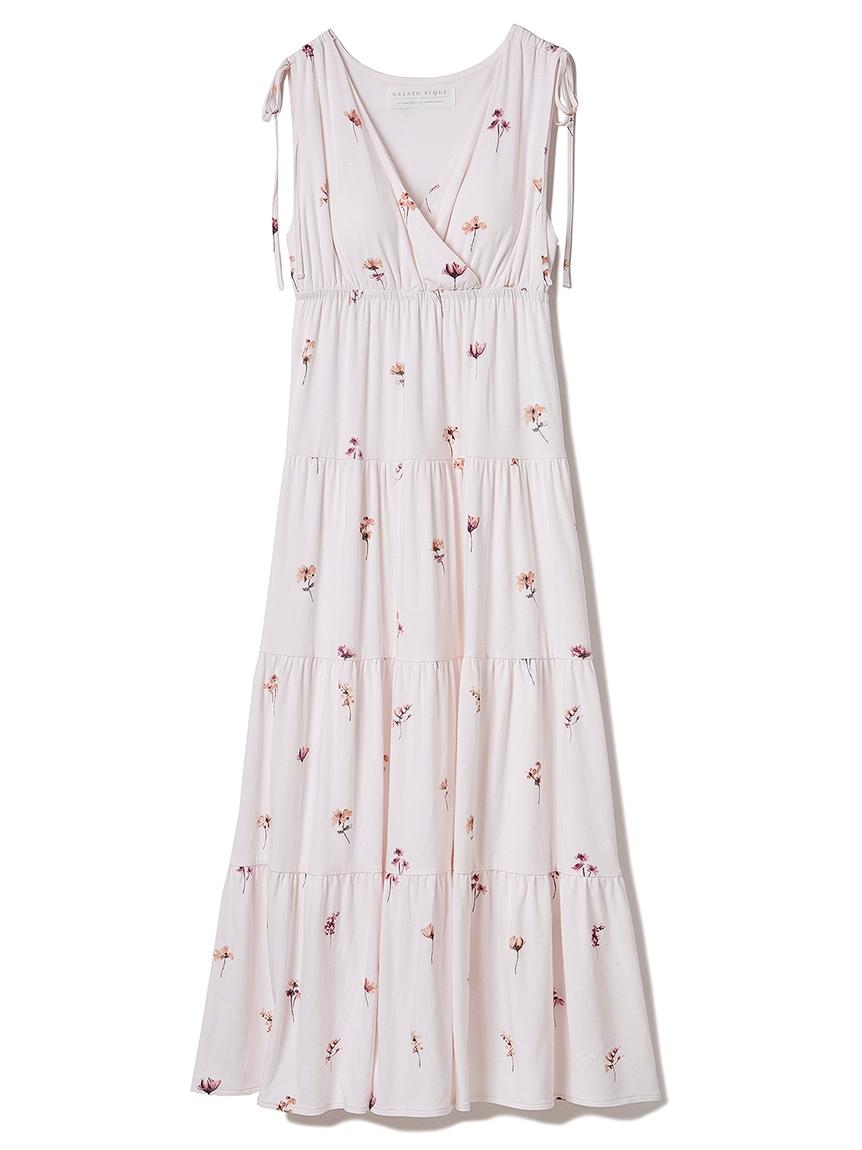 ポッピンフラワーモチーフドレス