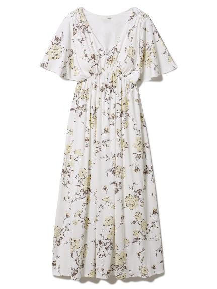 ギフトフラワーモチーフ ドレス