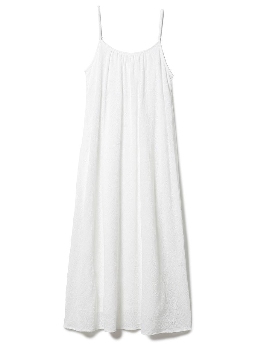 リーフレーシージャガードドレス(OWHT-F)
