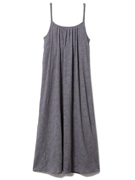 リーフレーシージャガードドレス(GRY-F)
