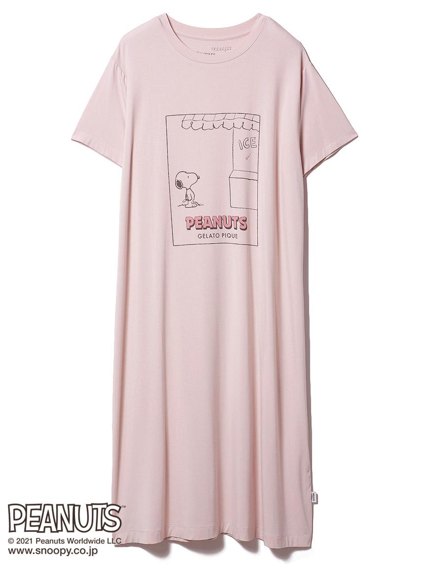 【PEANUTS】ワンポイントドレス