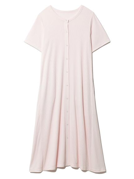 マタニティリブドレス
