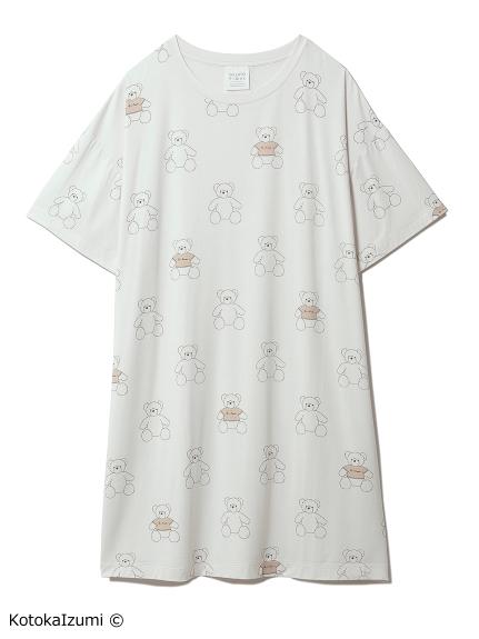 【kotoka izumi】ベアモチーフドレス(BEG-F)