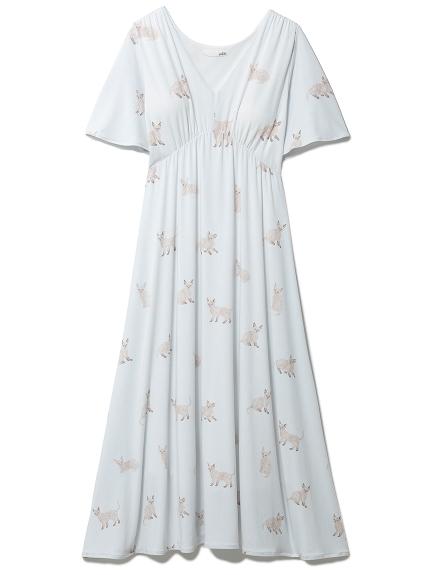 セルカークレックスモチーフドレス