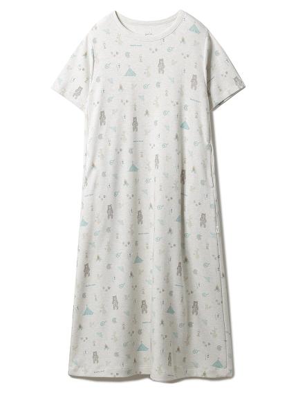 アニマルキャンプモチーフドレス