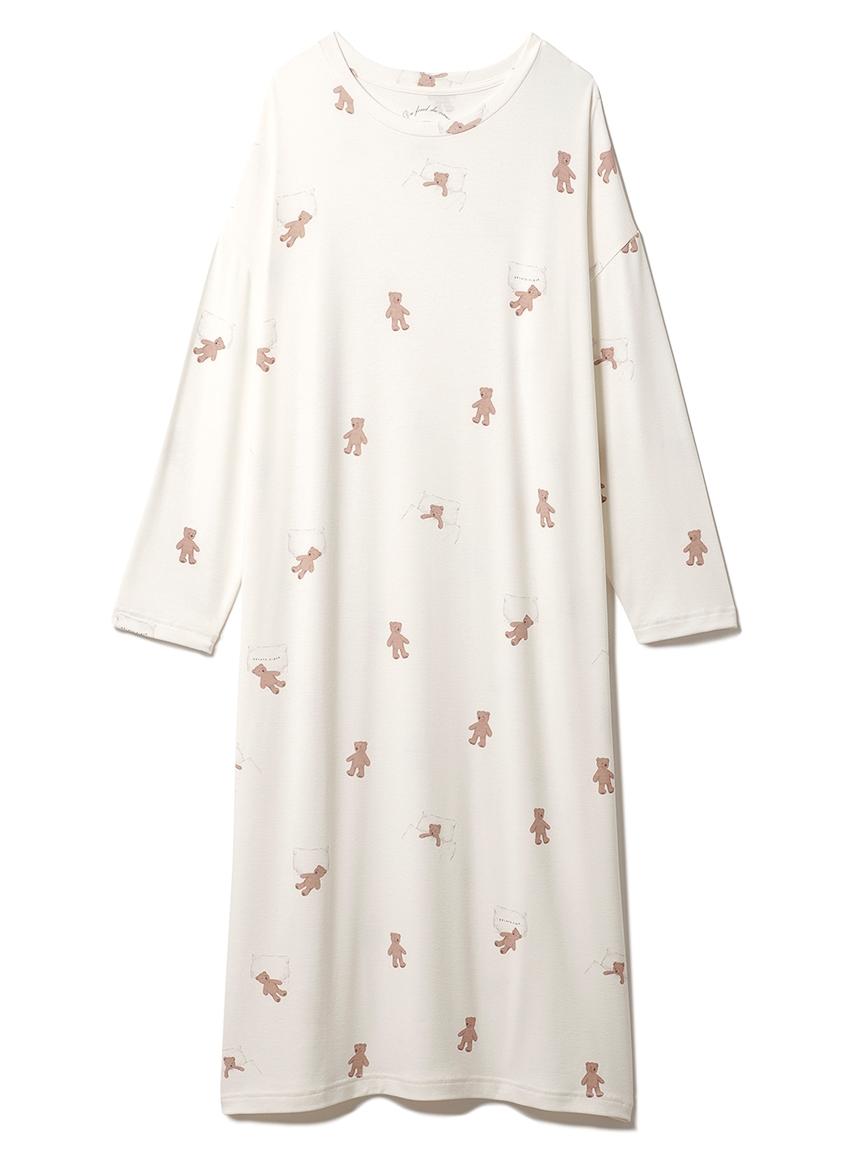 おやすみベアモチーフドレス(OWHT-F)