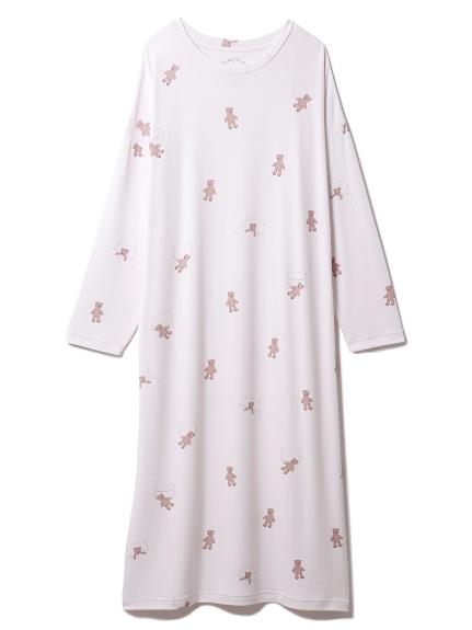おやすみベアモチーフドレス(PNK-F)