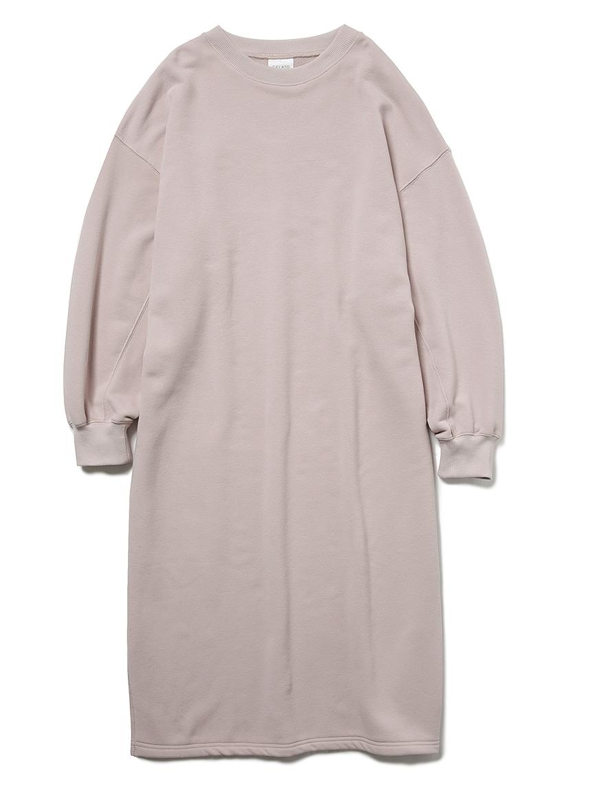 ロゴスウェットドレス