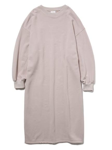 ロゴスウェットドレス(PNK-F)
